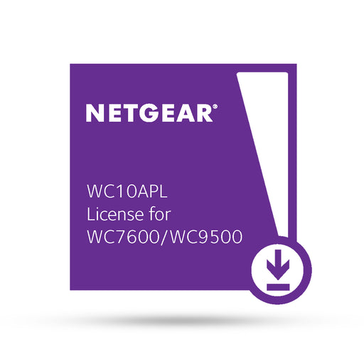 (Pre-Order) Netgear WC10APL - 10 AP License for WC7600 / WC9500