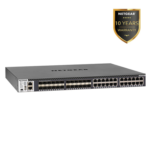 Netgear XSM4348S - 48 Port Fully Stackable Managed Switch Layer 3 (Warranty 10 Years)