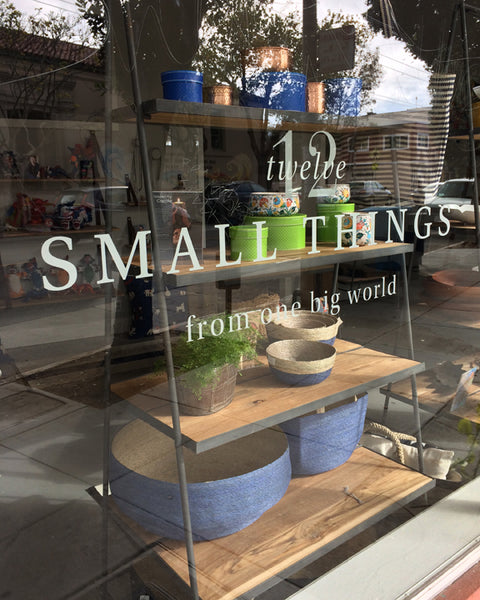 12 Small Things from One Big World Storefront