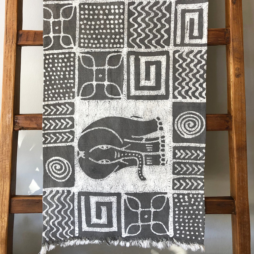 Batik Elephant Table Runners