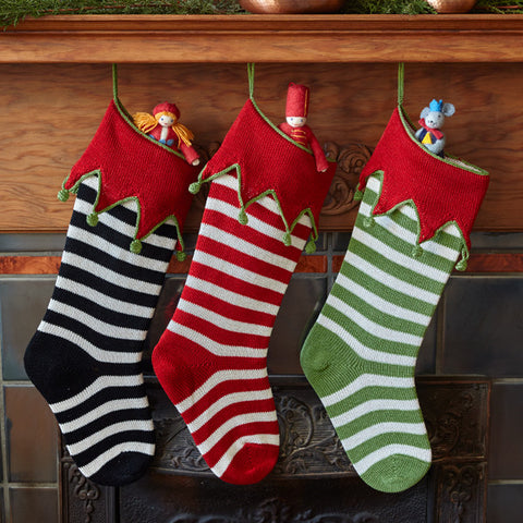 Handknit Holiday Stockings