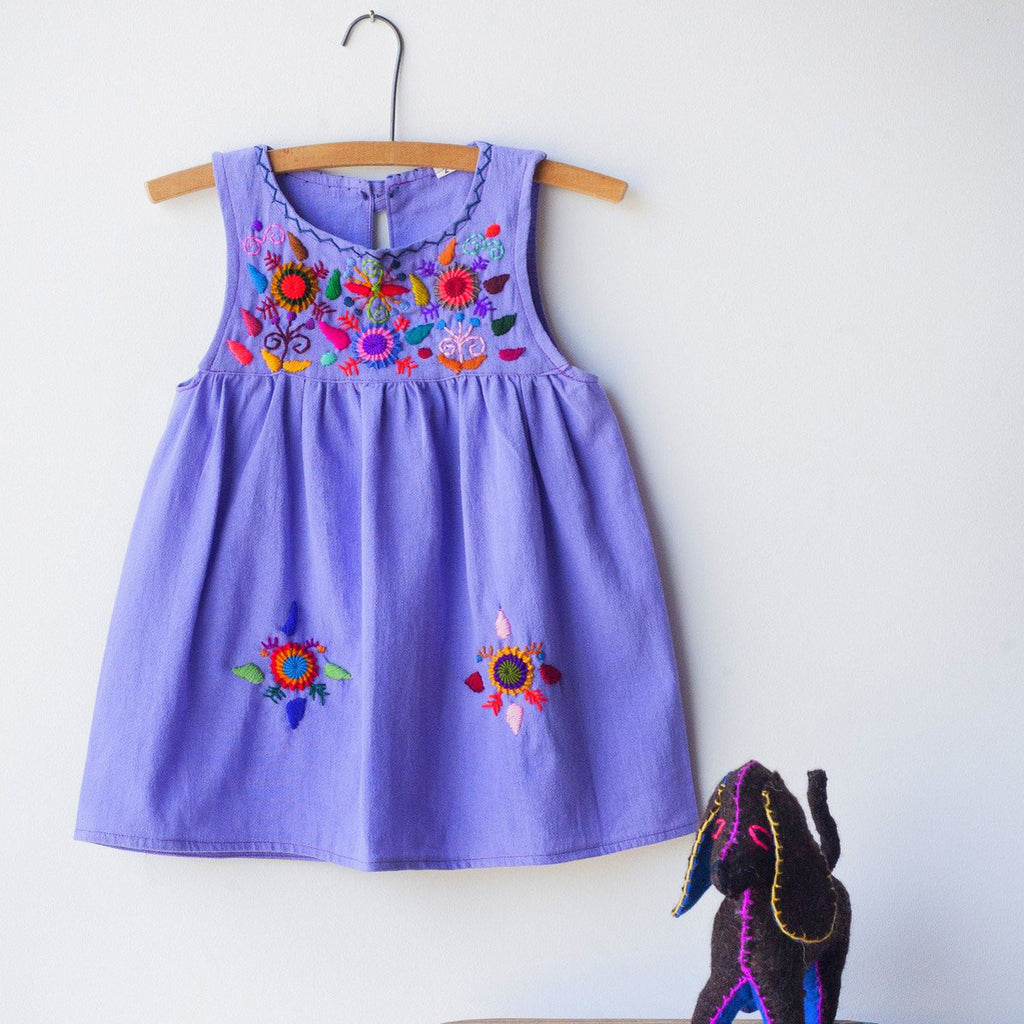 Girl's embroidered dress