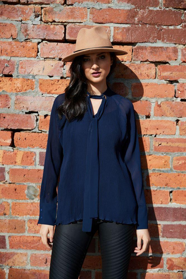 Jaz Pleated Blouse
