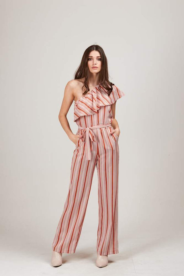 Kortney Jumpsuit Stripe