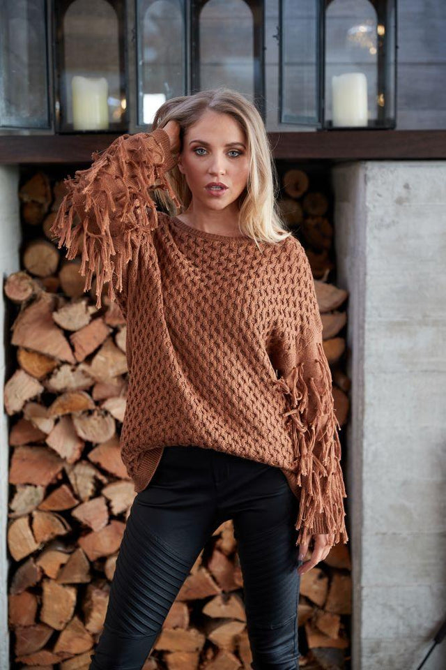 Emery Knit Caramel