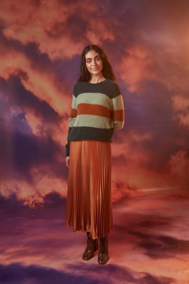 Mika Striped Jumper