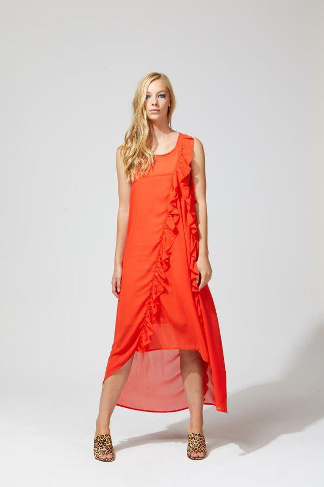 Tai Dress Orange