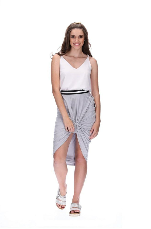 Amelie Skirt Grey