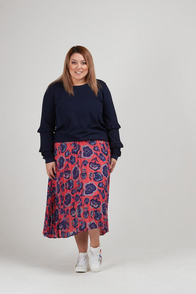 Jaya Pleated Skirt