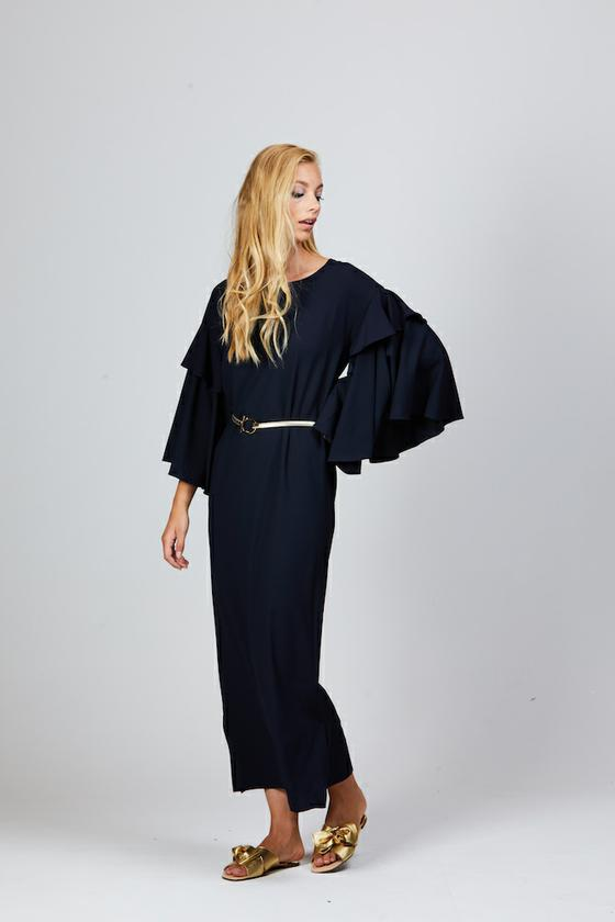 LEILA MAXI DRESS NAVY