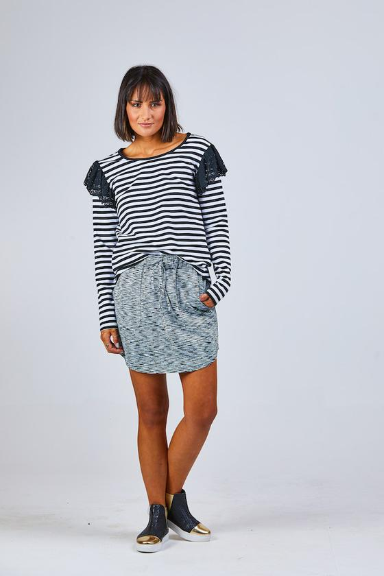 Isla Skirt Grey