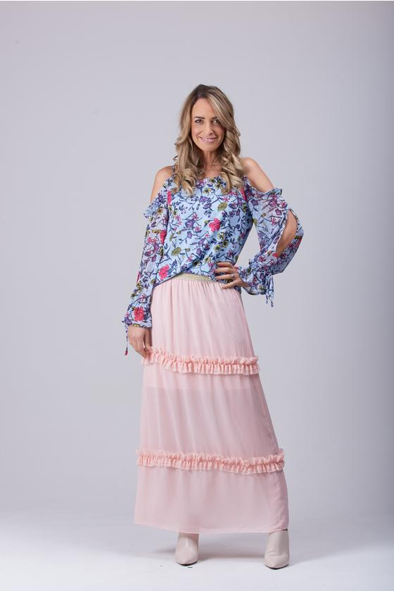 Palace Peach Maxi Skirt