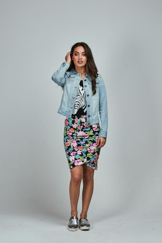 Patrice Meow Skirt Long