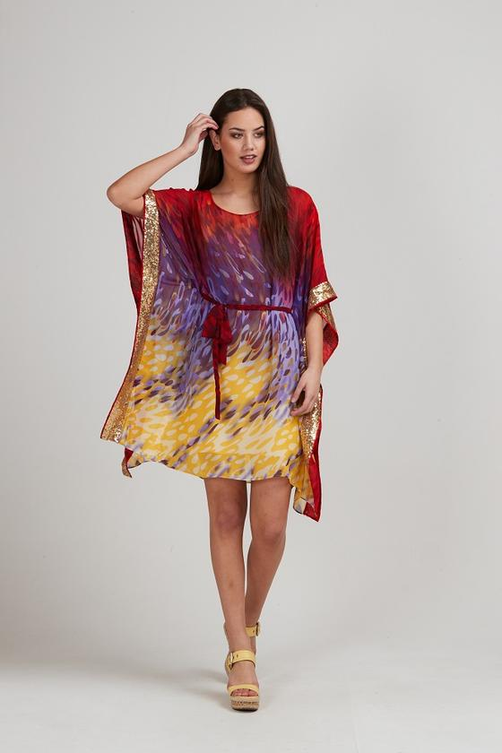 Auston Kaftan Dress