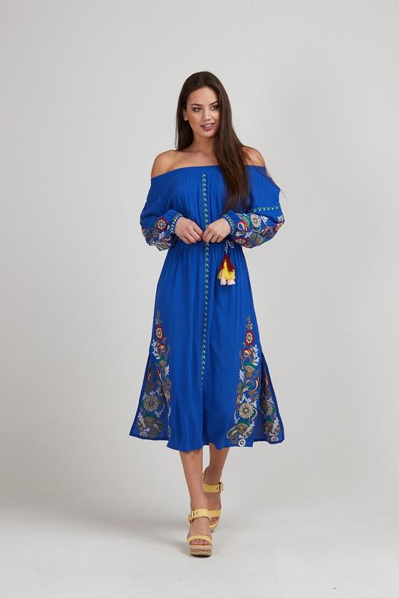 Monet Dress Royal Blue