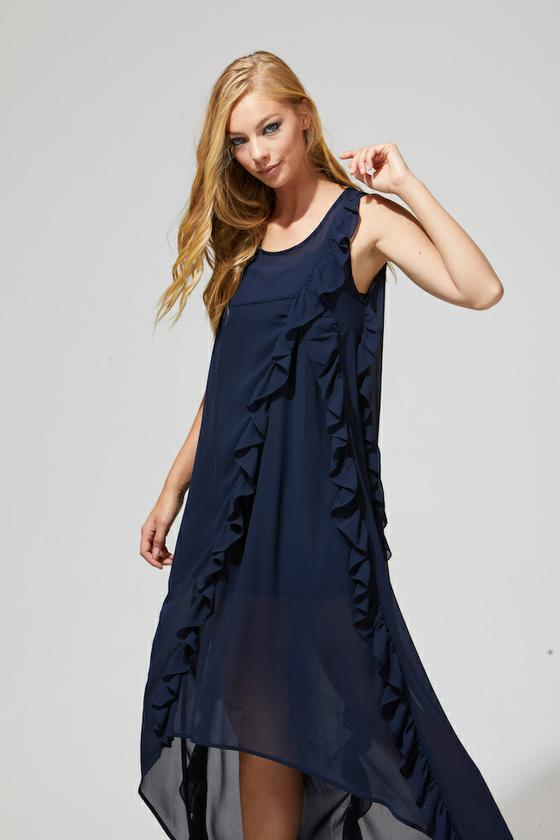 Tai Dress Navy
