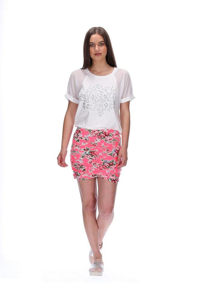 Brinley Meow Skirt Short