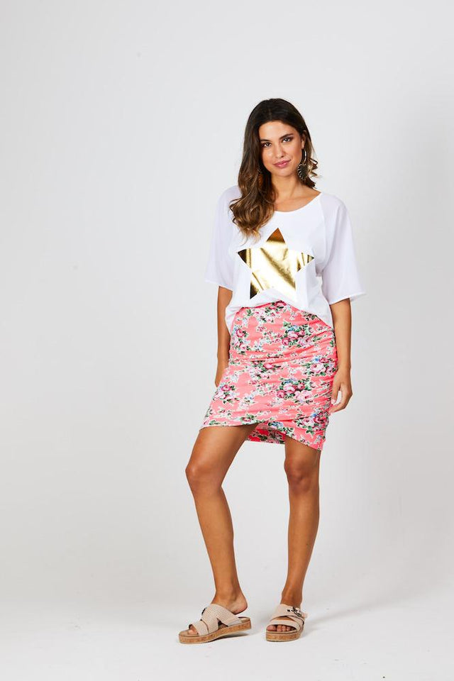 Brinley Meow Skirt Long
