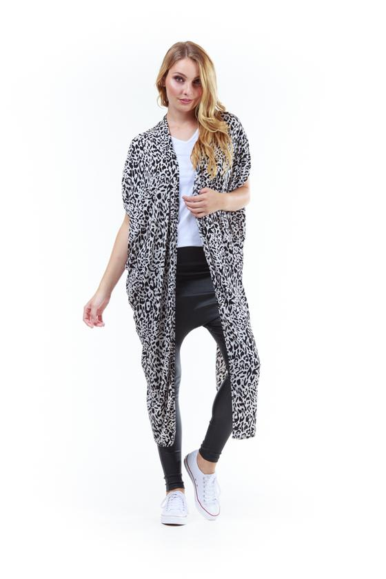 The Magic Cardi Leopard