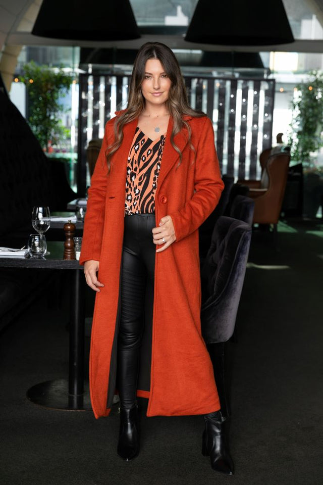 Fergie Coat Rust