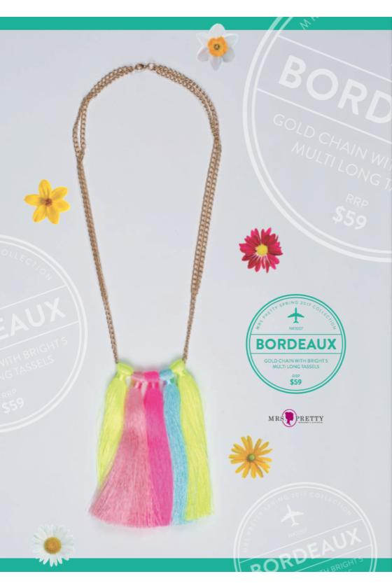 Bordeaux Gold - Bright Multi