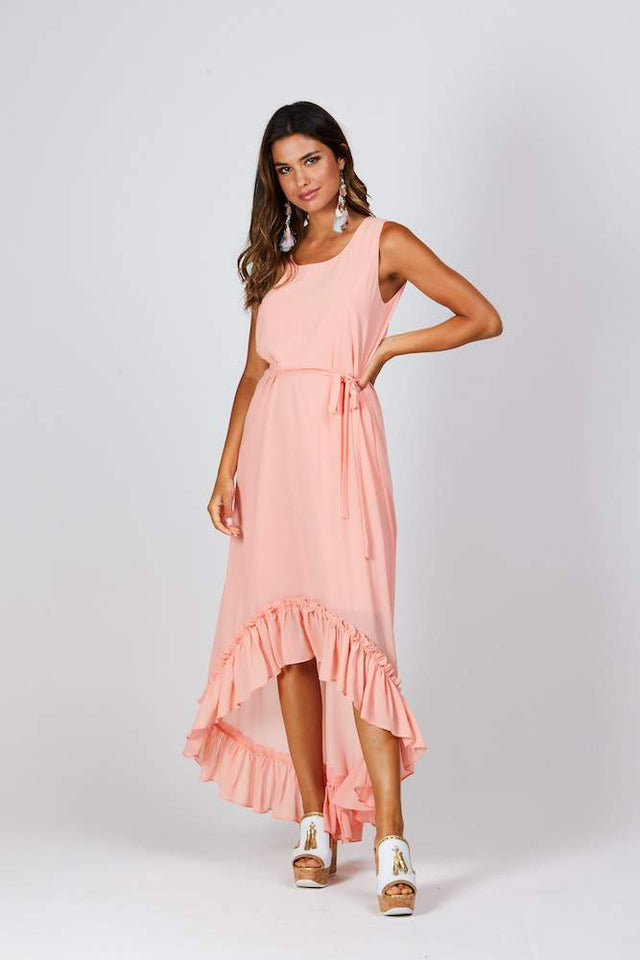 Peachy Maxi Dress