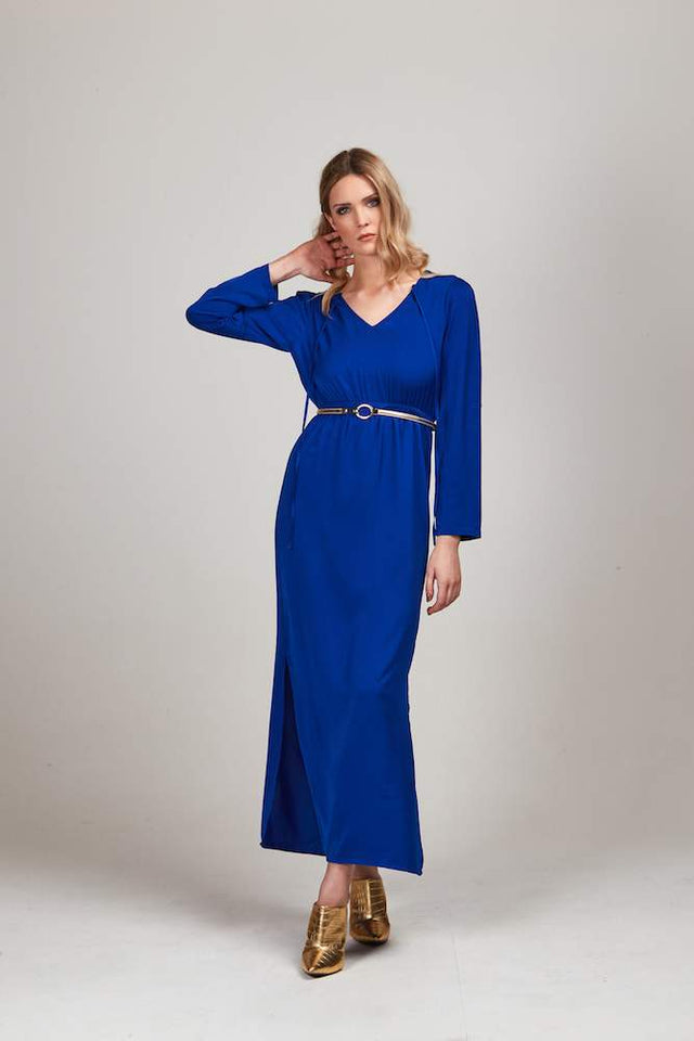 JAMIE MAXI ROYAL BLUE DRESS