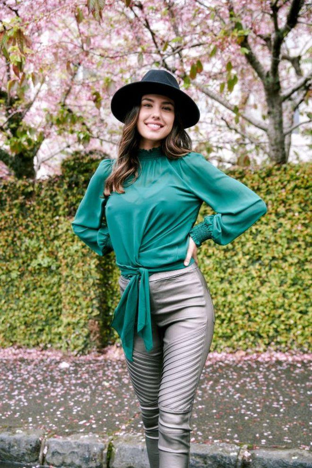 Marcelle Top Green