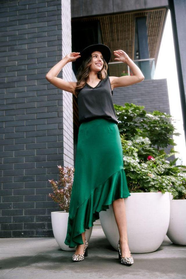 Nikki Skirt Green
