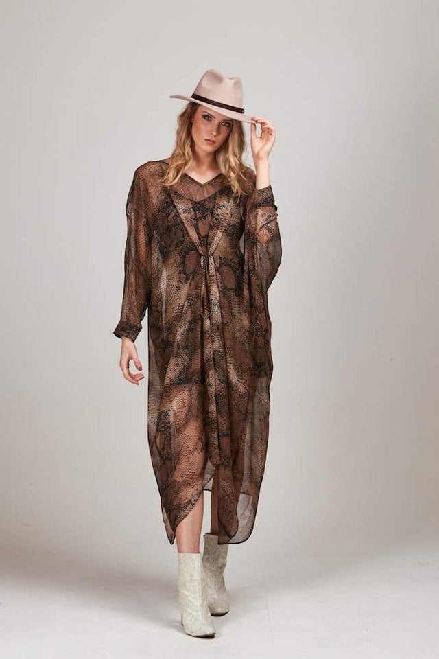 MUD SNAKE ADESSA DRESS