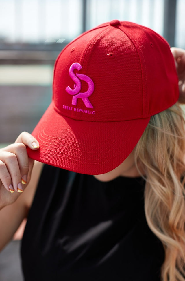 Sports Cap Red/Pink