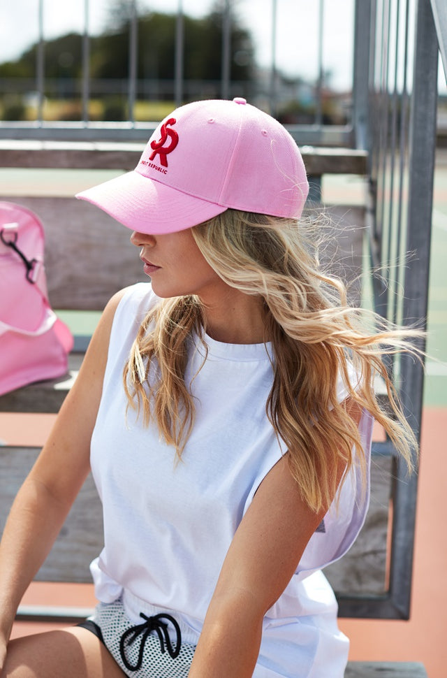 Sports Cap Pink/Red
