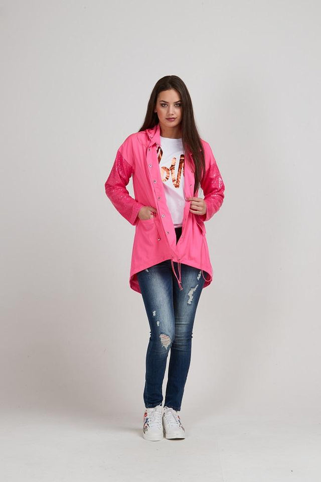 Lucia Pink Jacket