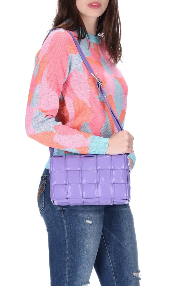 Luca Handbag Purple