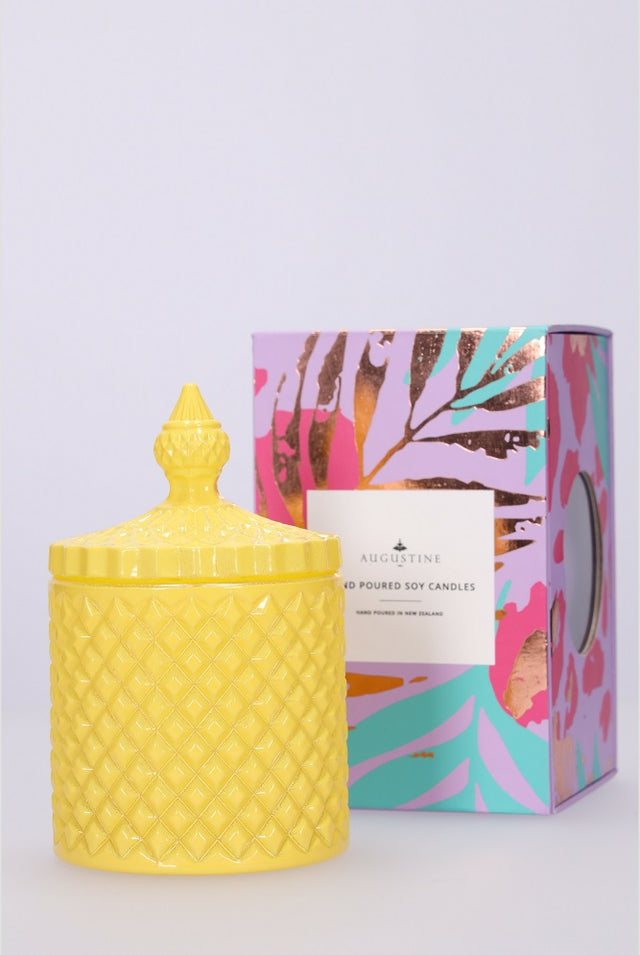 Yellow Fragrant Pear Candle