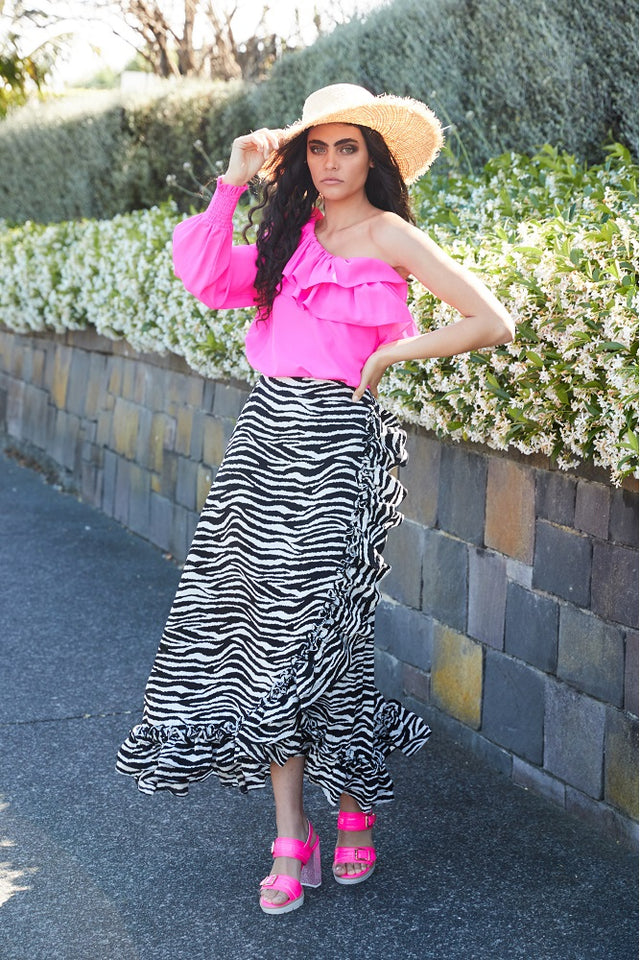 Savannah Skirt Zebra
