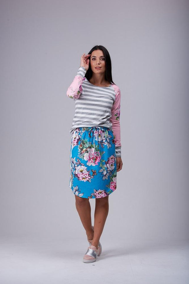 Cati Skirt Blue