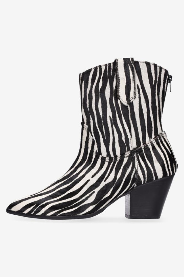 Miley Zebra Cowgirl Boot