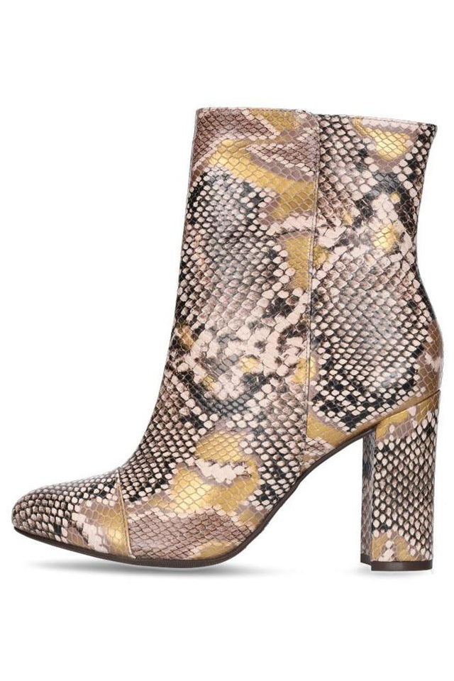 Fifi Boot Embossed Snake