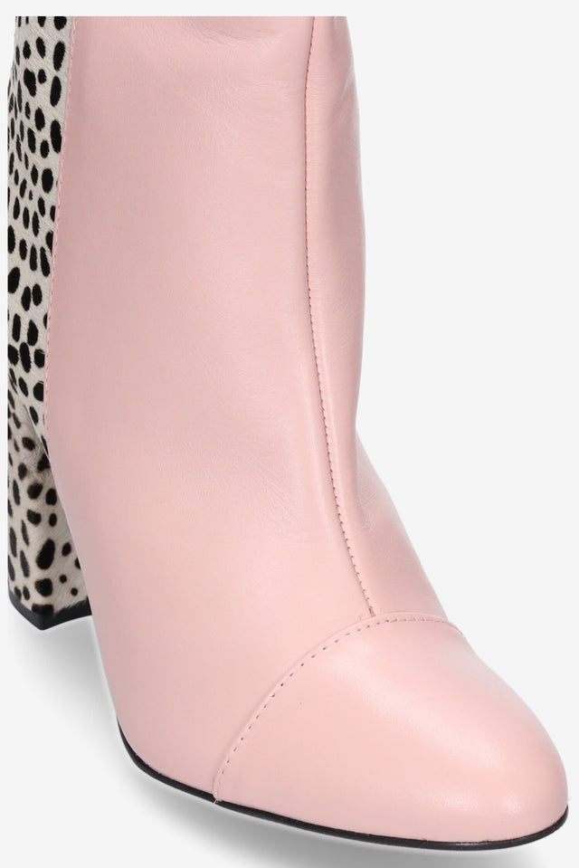 Fifi Blush/Snow Leopard Boot