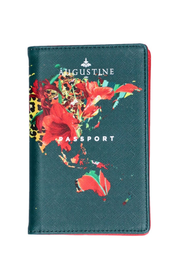 Floral Leopard Passport Cover