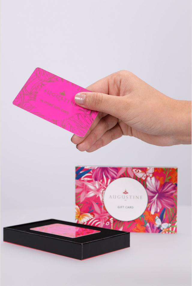 IN STORE PHYSICAL GIFT CARD