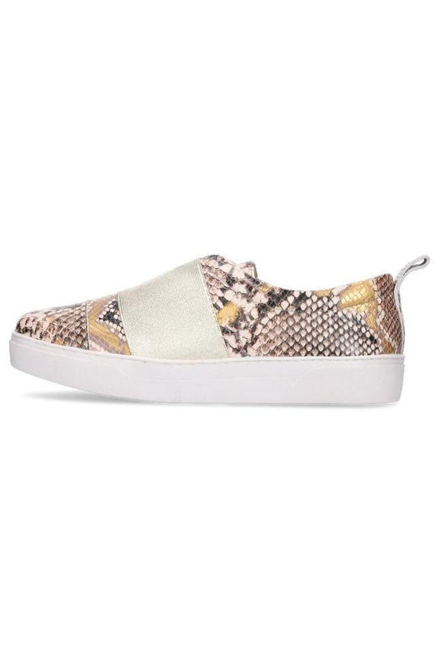 Hailey Sneaker Embossed Snake