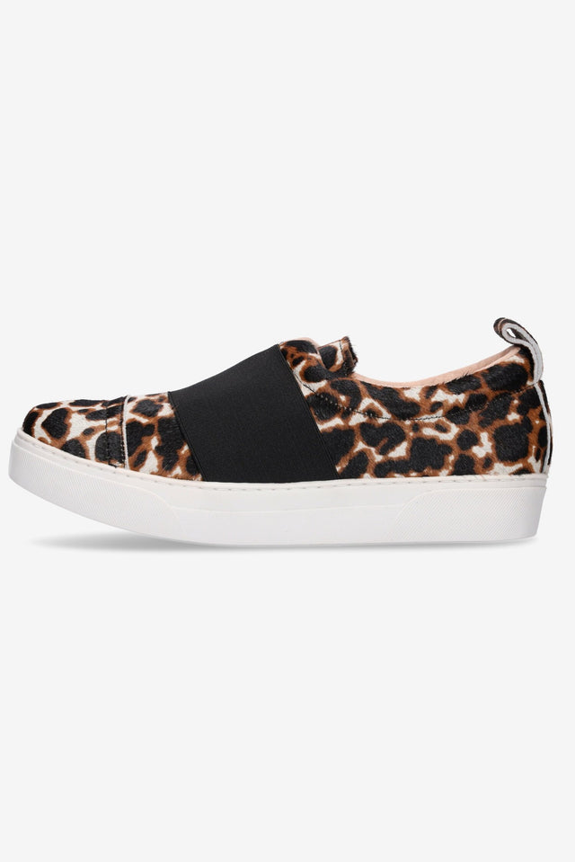 Hailey Sneaker Leopard & Black