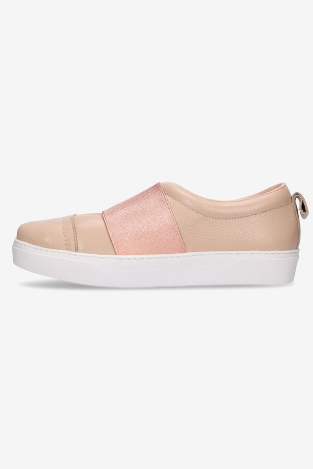 Hailey Sneaker Nude/Rose Gold