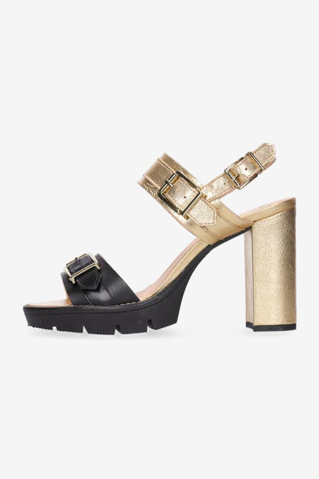 Heidi Heel Black Gold
