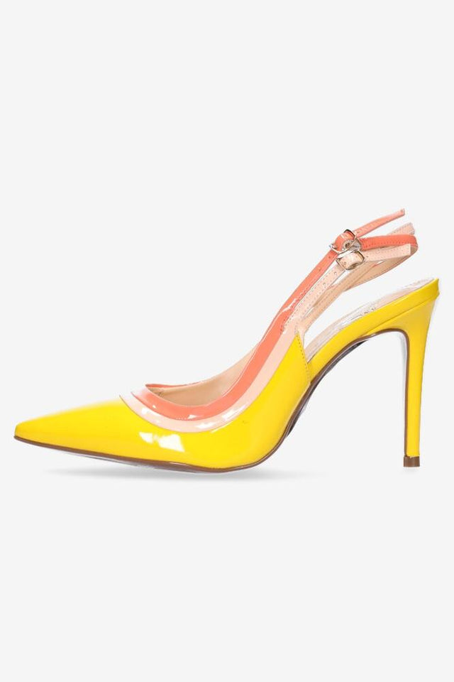 Lillian Heel Yellow