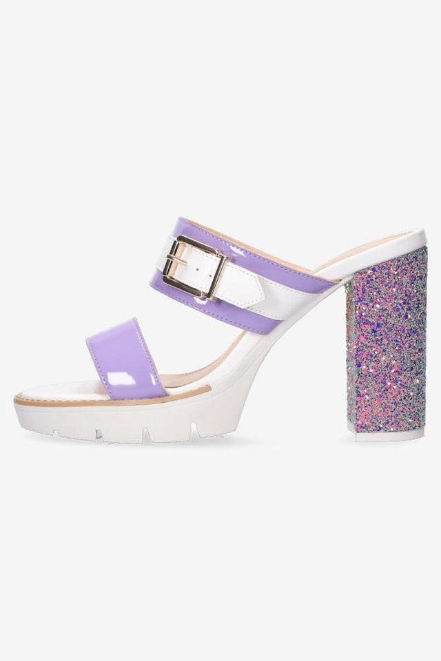 Alexis Heel White/Purple