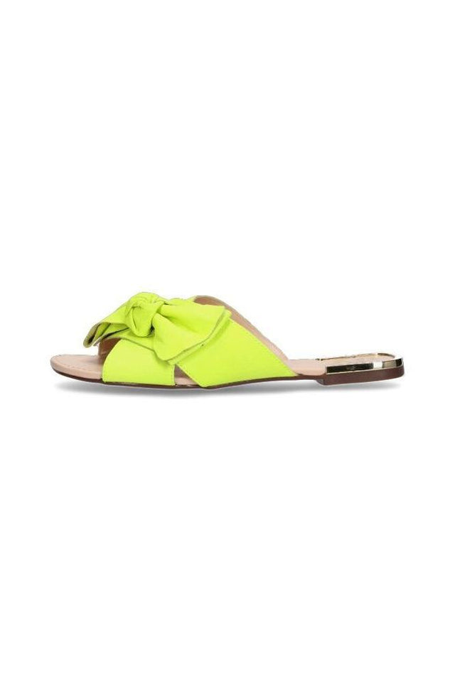 Jennifer Slide Neon Yellow