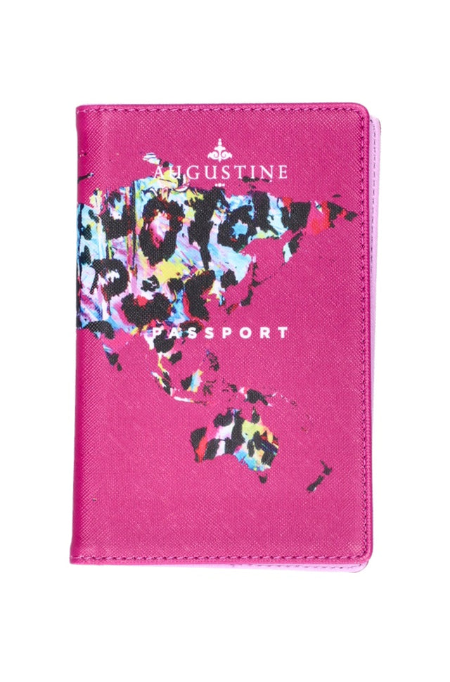 Mint Leopard Passport Cover